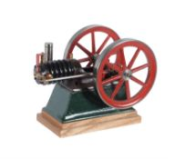 A well engineered model of an atmospheric horizontal gas engine