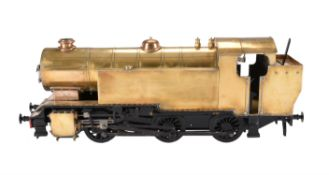 A well engineered 3 1/2 inch gauge Bassett Lowke model of a 0-6-0 Side Tank Locomotive