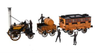 A Hornby live steam 3 1/2 inch gauge model of 'Rocket'