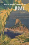 An original 1960's travel poster