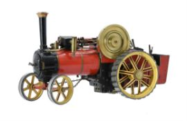 A well engineered 3/4 inch scale model of a Bassett-Lowke live steam traction engine