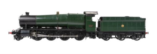 An exhibition quality model of a 3 1/2 inch gauge Class 47xx Great Western Railway Heavy Freight
