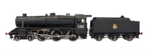 A well engineered 3 1/2 inch gauge model of a LBSC 'Doris' 4-6-0 tender locomotive No 5302