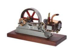 A well engineered Stuart Turner No 9 horizontal mill engine