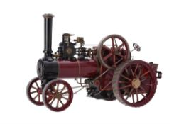 A well engineered 1 inch scale model of a Minnie agricultural traction engine