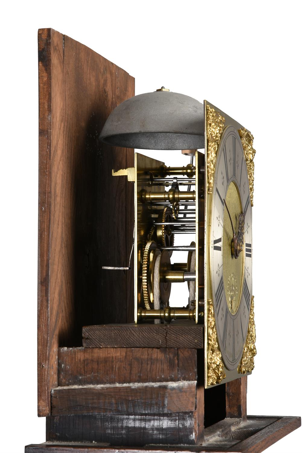An oak cased thirty-hour longcase clock - Image 4 of 4