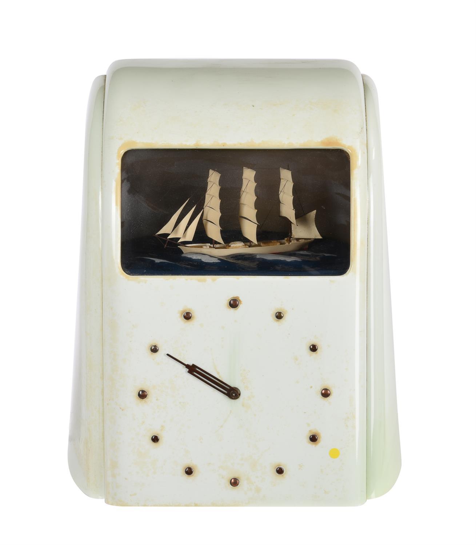 A 'Vitascope' dioramic electric timepiece