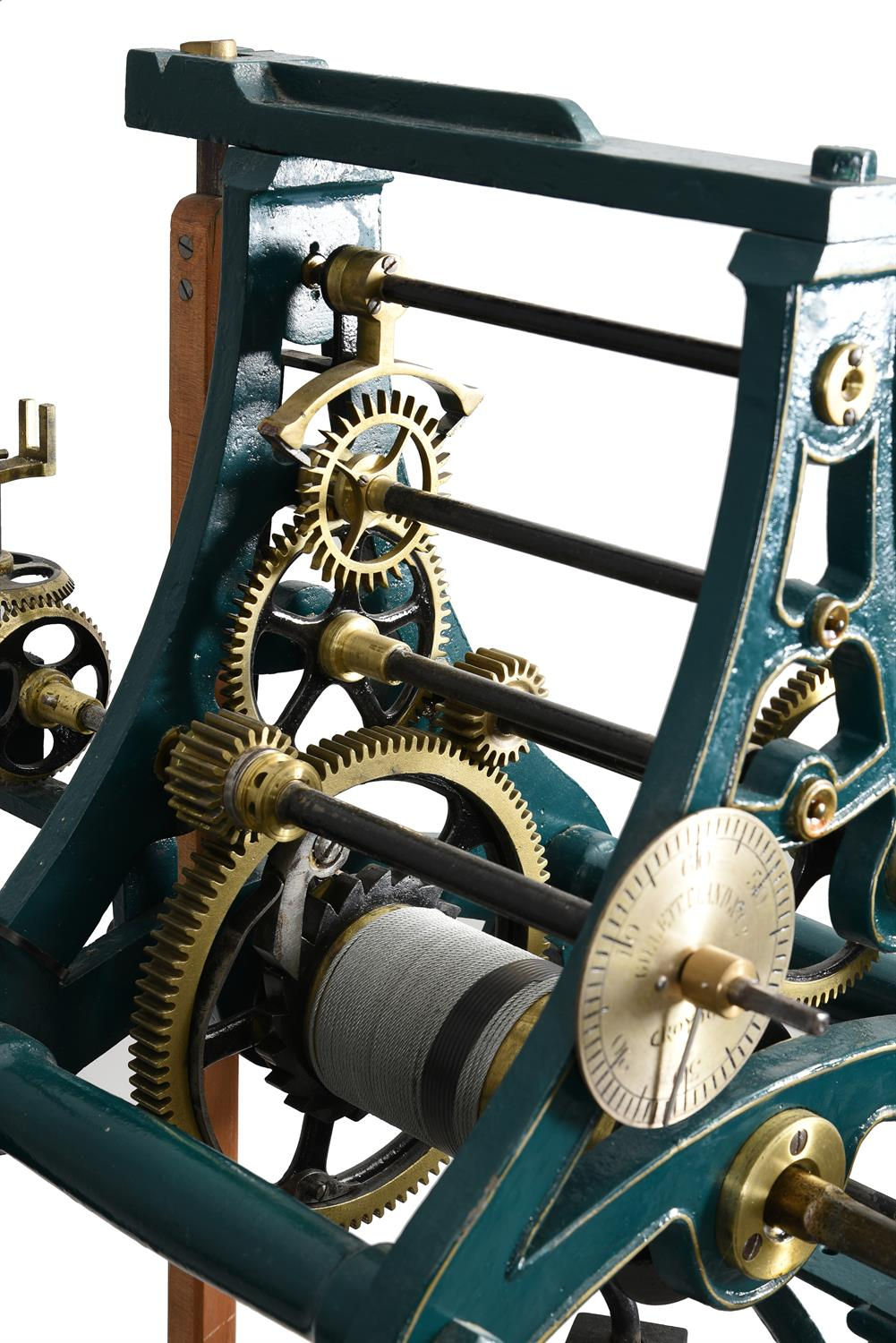 A Victorian cast iron turret timepiece formerly installed at 'The Clock House' 8 Chelsea Embankment - Image 4 of 7