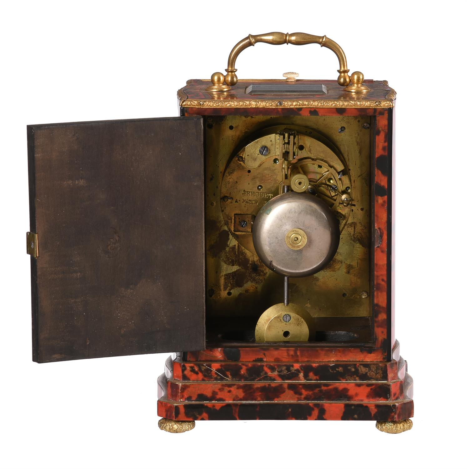 A French Louis Philippe boulle mantel clock - Image 2 of 2