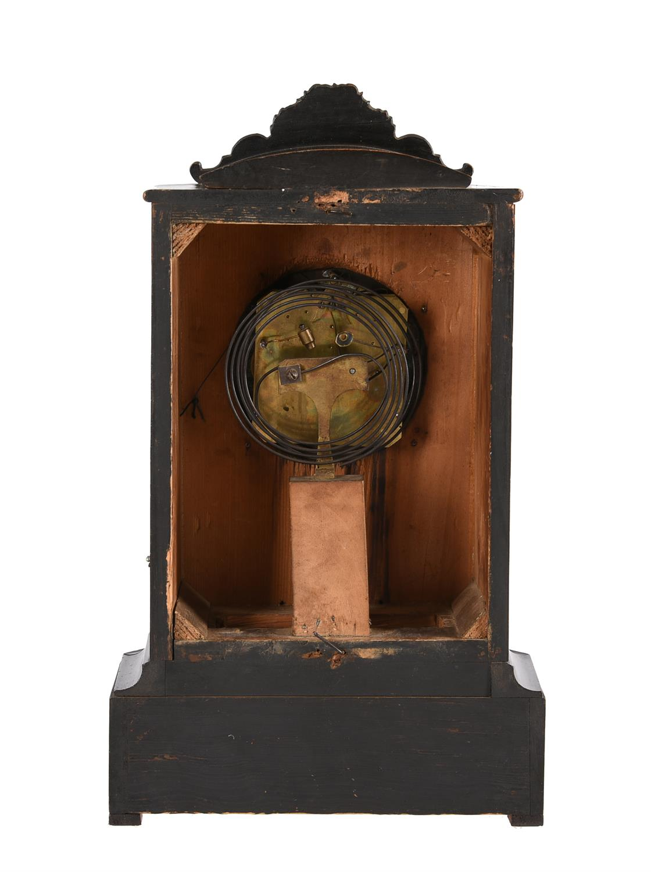 Y An Austrian brass inlaid rosewood grande-sonnerie striking mantel clock - Image 2 of 2