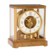 A gilt brass 'Atmos' timepiece, Jaeger-LeCoultre