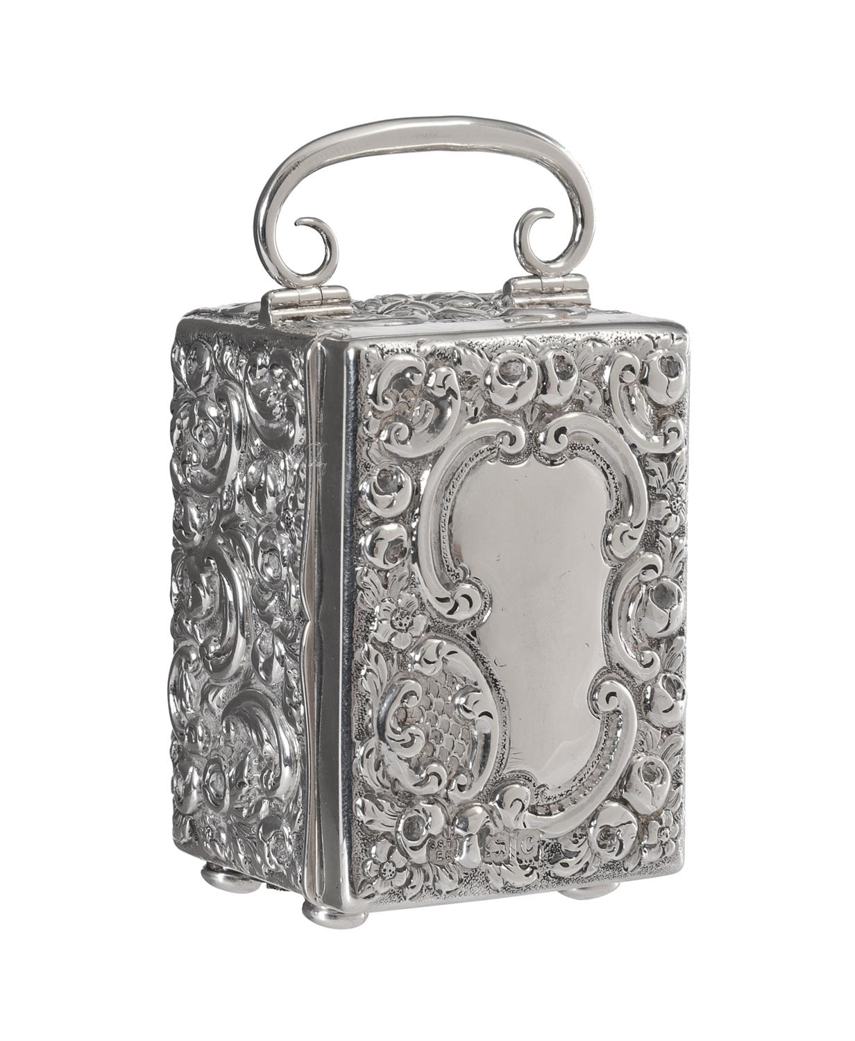A Victorian silver cased miniature carriage timepiece - Image 2 of 6