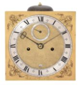 A fine Charles II eight-day longcase clock movement, Edward East