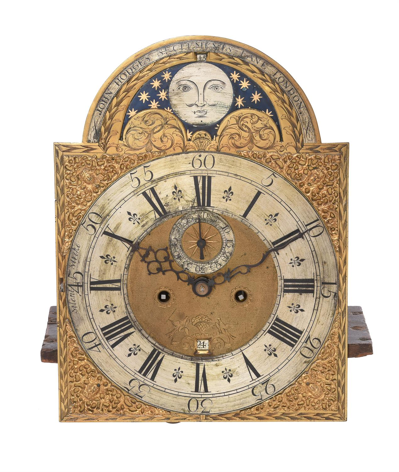 A figured walnut eight-day longcase clock with moonphase - Image 2 of 4