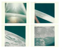 Earth from orbit (personal collection of Walter Cunningham, 50 views), Apollo 7, October 1968