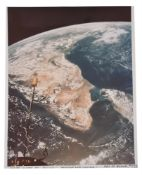 A view of Earth from space: India and Sri Lanka [large format], Gemini 11, September 1966