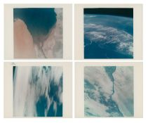Views of Earth from space: Cape Kennedy, Baja California, Pacific and Egypt, Gemini 4, June 1965