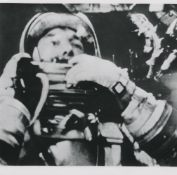 First picture of a human in space; a view of Earth from space, Mercury-Redstone 3, May 1961