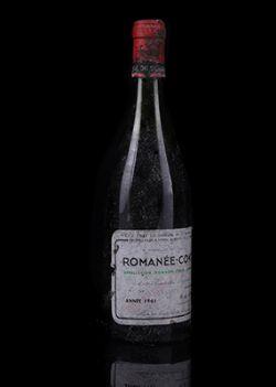 Fine and Rare Wine and Spirits