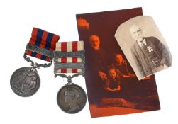 Indian Mutiny Medal, bars Lucknow and Relief Of Lucknow 1857-1858