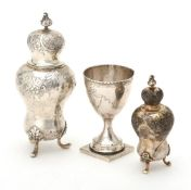 A provincial silver pedestal cup