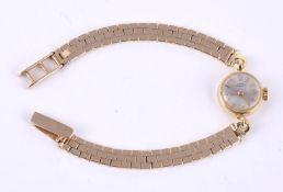 Girard Perregaux, Lady's gold coloured bracelet watch