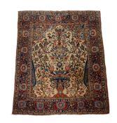 A Kashan tree of life rug