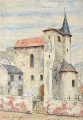 λ Josselin Reginald Courtenay Bodley (British 1893-1974), Church