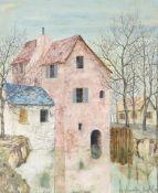 λ Josselin Reginald Courtenay Bodley (British 1893-1974), Mill house