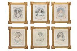 A composite set of sixteen decorative prints