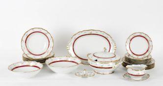 Haas & Czjzek Czechoslovakian porcelain part service
