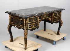 A French Boulle desk