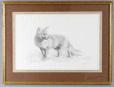 λ John Edwards (British b.1940), 'The fox'