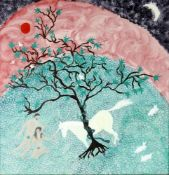 Follower of Craigie Aitchinson, 'A Unicorn with Adam & Eve in the Garden of Eden'