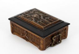 A French Gothic coffret or missal box