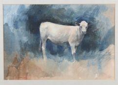 Leslie Charles Worth (1923-2009), 'The Bull Calf'