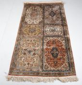 A Persian or Indian rug