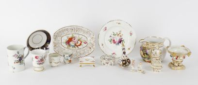 A group of English 18th & 19th century porcelain