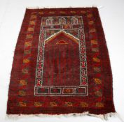 A Bokhara prayer rug