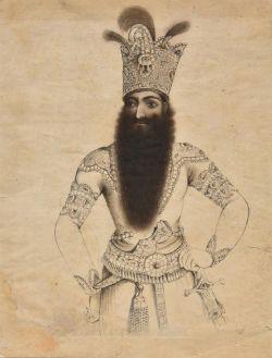 Portrait of Fath Ali Shah Qajar