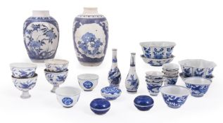 A group of Chinese 'Hatcher Cargo' blue and white porcelain