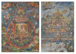 Two Tibetan Thang-kas