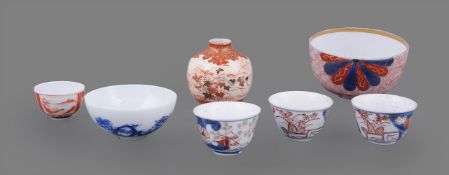 A group of Japanese wares