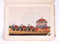 Thirty-two Indian paintings on mica