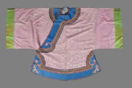 A Chinese pink lady's robe
