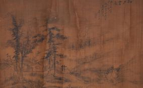 Yue Zhou (Qing Dynasty), Landscape