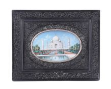 Y An Indian miniature of the Taj Mahal