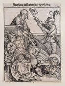 Anton Koberger (German c.1440-1513), Three illustrations
