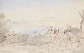 Albert Venus (German 1842-1871), Albaner See