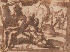 Alessandro Casolani (Italian 1552-1606), The expulsion from Paradise